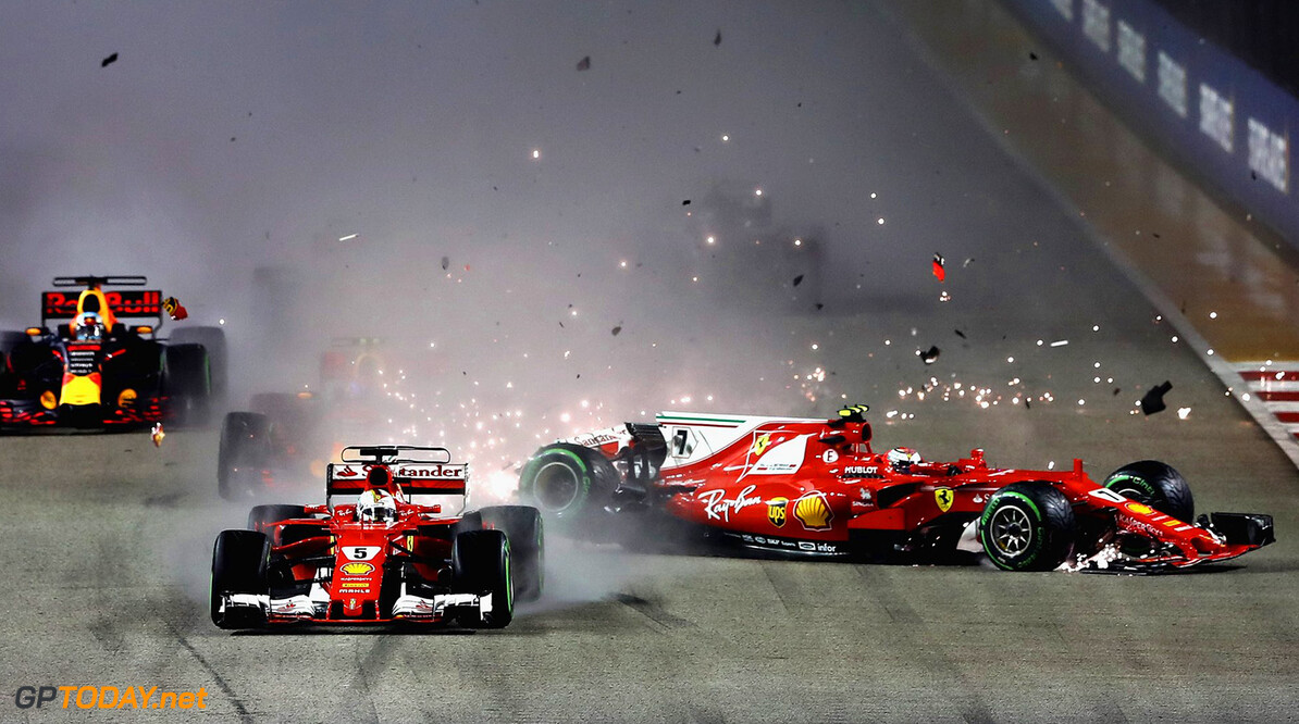 Wolff feeling sorry for Ferrari after Singapore disaster