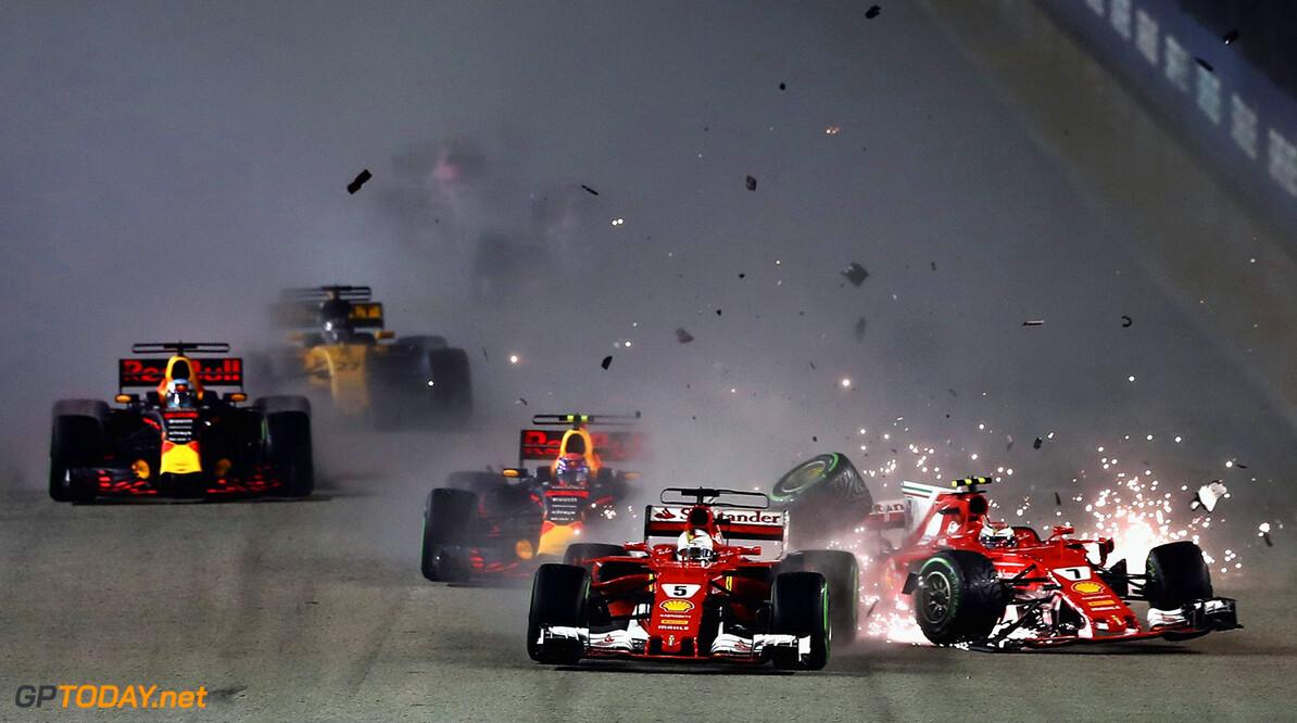 Niki Lauda blames Vettel for Singapore crash