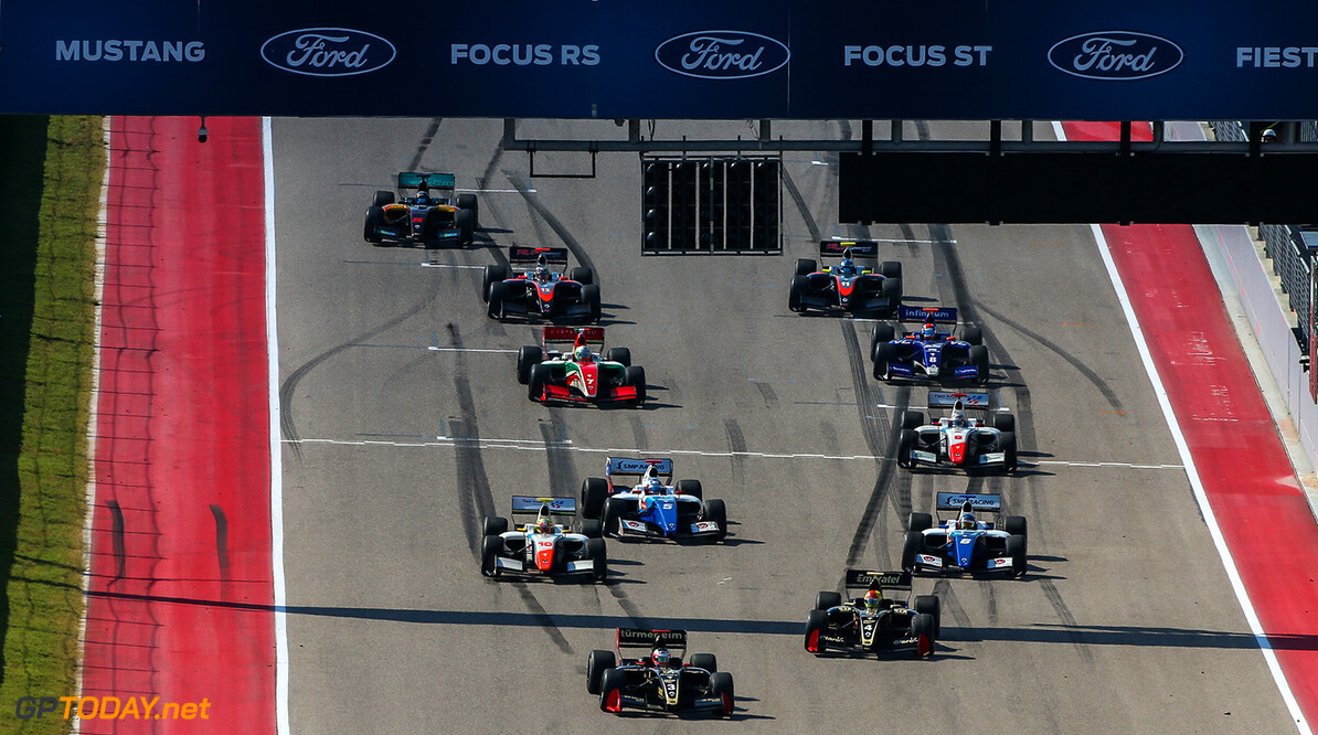 AUSTIN (USA), September 14-16 2017: Eighth round of the World Series Formula V8 3.5 at Circuit of the Americas. Start of race 1. (C) 2017 Sebastiaan Rozendaal / Dutch Photo Agency COTA RACING FORMULA V8 2017 Sebastiaan Rozendaal AUSTIN