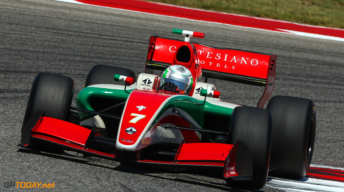AUSTIN (USA), September 14-16 2017: Eighth round of the World Series Formula V8 3.5 at Circuit of the Americas. Alfonso Celis Jr. #07 Fortec Motorsports. (C) 2017 Sebastiaan Rozendaal / Dutch Photo Agency COTA RACING FORMULA V8 2017 Sebastiaan Rozendaal AUSTIN