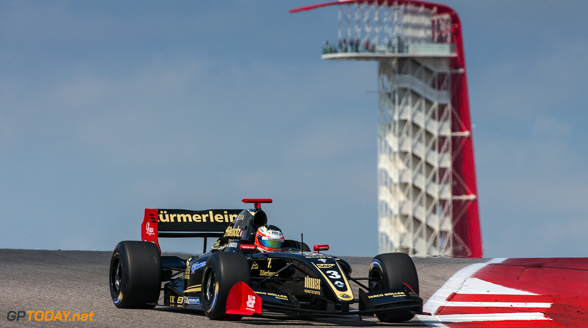 AUSTIN (USA), September 14-16 2017: Eighth round of the World Series Formula V8 3.5 at Circuit of the Americas. Rene Binder #03 Lotus. (C) 2017 Sebastiaan Rozendaal / Dutch Photo Agency COTA RACING FORMULA V8 2017 Sebastiaan Rozendaal AUSTIN