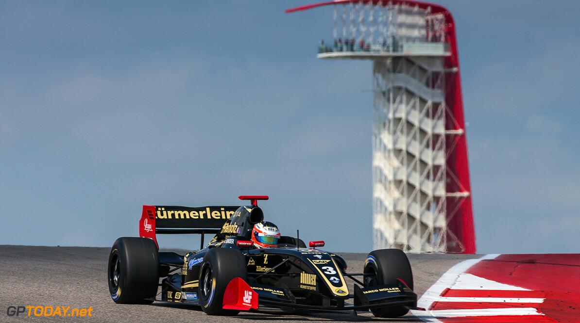 Binder wint allerlaatste Formule V8-race in Bahrein