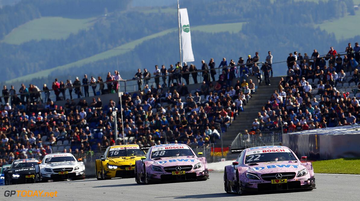 DTM race in Spielberg #22 Lucas Auer, Mercedes-AMG C 63 DTM, #48 Edoardo Mortara, Mercedes-AMG C 63 DTM Motorsports: DTM race in Spielberg HZ Spielberg Austria  Motorsport Sport DTM ?sterreich