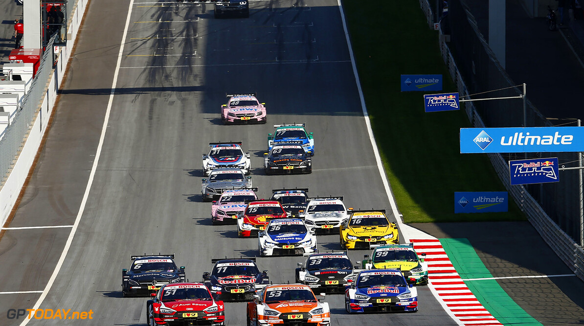 DTM race in Spielberg Start Motorsports: DTM race in Spielberg HZ Spielberg Austria  Motorsport Sport DTM ?sterreich