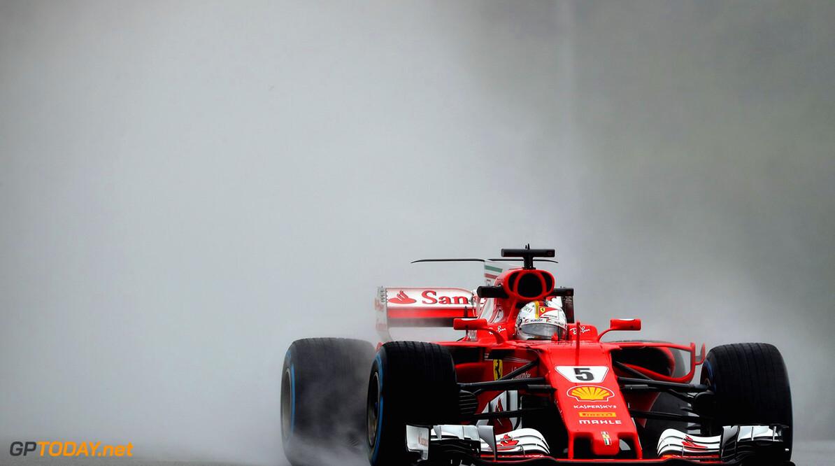 Vettel quickest in shortened FP2 session