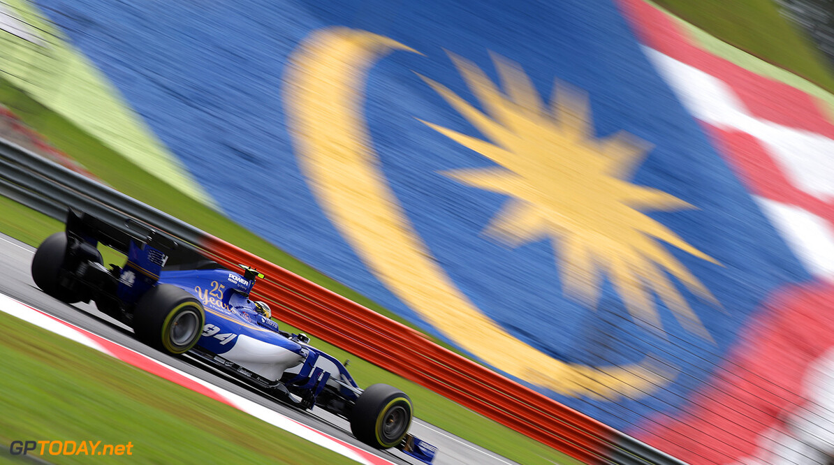 Malaysian GP Friday 29/09/17 Pascal Wehrlein (D), Sauber F1 Team.  Sepang International Circuit.  Malaysian GP Friday 29/09/17 Jad Sherif Sepang Malaysia  F1 Formula 1 One 2017 Action Wehrlein Sauber