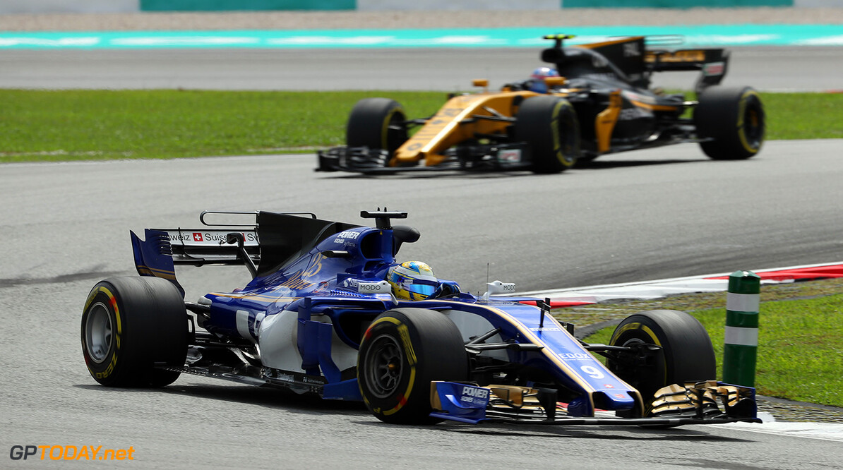 Malaysian GP Friday 29/09/17 Marcus Ericsson (SWE) Sauber F1 Team.  Sepang International Circuit.  Malaysian GP Friday 29/09/17 Jad Sherif Sepang Malaysia  F1 Formula 1 One 2017 Action Ericsson Sauber