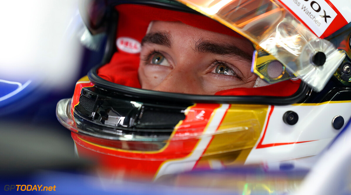 Malaysian GP Friday 29/09/17 Charles Leclerc (MON) Sauber F1 Team.  Sepang International Circuit.  Malaysian GP Friday 29/09/17 Jad Sherif Sepang Malaysia  F1 Formula 1 One 2017 Pits Leclerc Sauber