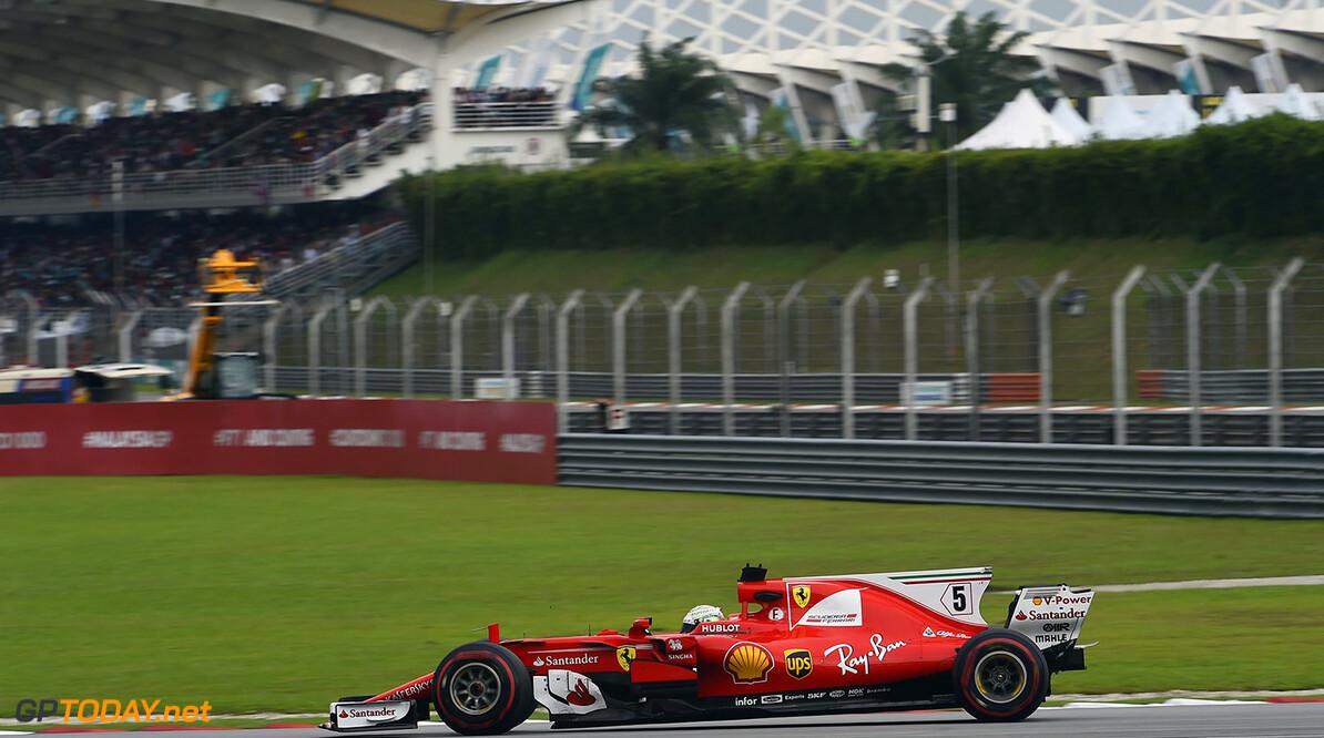 Versnellingsbak Sebastian Vettel herbruikbaar in Japan