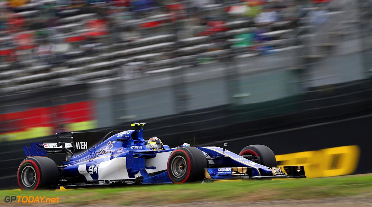 Japanese GP Friday 06/10/17 Pascal Wehrlein (D), Sauber F1 Team  Suzuka Circuit.  Japanese GP Friday 06/10/17 Jad Sherif Suzuka Japan  F1 Formula 1 One 2017 action Wehrlein Sauber