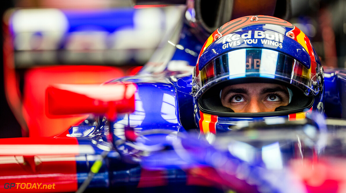 SUZUKA, JAPAN - OCTOBER 06:  Carlos Sainz of Scuderia Toro Rosso and Spain  during practice for the Formula One Grand Prix of Japan at Suzuka Circuit on October 6, 2017 in Suzuka.  (Photo by Peter Fox/Getty Images) // Getty Images / Red Bull Content Pool  // P-20171006-00590 // Usage for editorial use only // Please go to www.redbullcontentpool.com for further information. //  F1 Grand Prix of Japan - Practice Peter Fox Suzuka Japan  P-20171006-00590