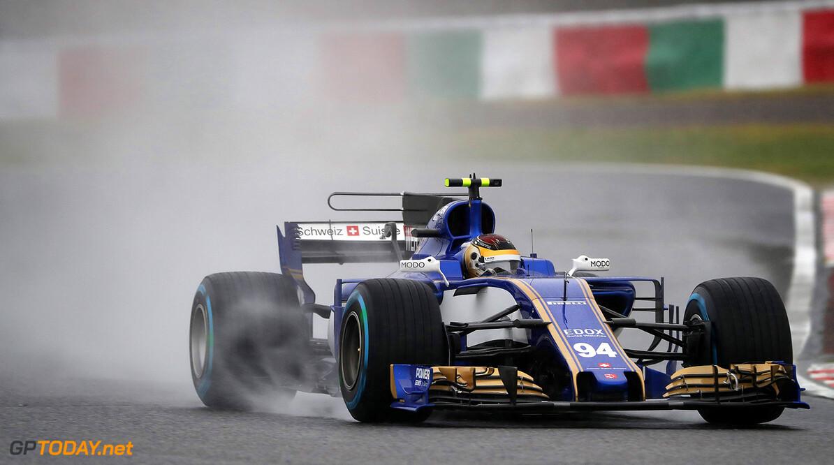 Japanese GP Friday 06/10/17 Pascal Wehrlein (D), Sauber F1 Team.  Suzuka Circuit.  Japanese GP Friday 06/10/17 Jad Sherif Suzuka Japan  F1 Formula 1 One 2017 action Wehrlein Sauber