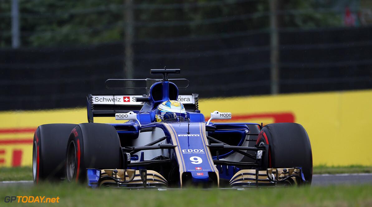 Japanese GP Friday 06/10/17 Marcus Ericsson (SWE) Sauber F1 Team.  Suzuka Circuit.  Japanese GP Friday 06/10/17 Jad Sherif Suzuka Japan  F1 Formula 1 One 2017 action Ericson Sauber
