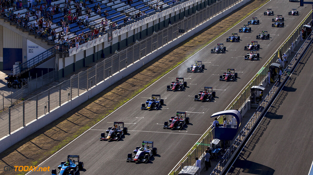 2017 GP3 Series Round 7. 