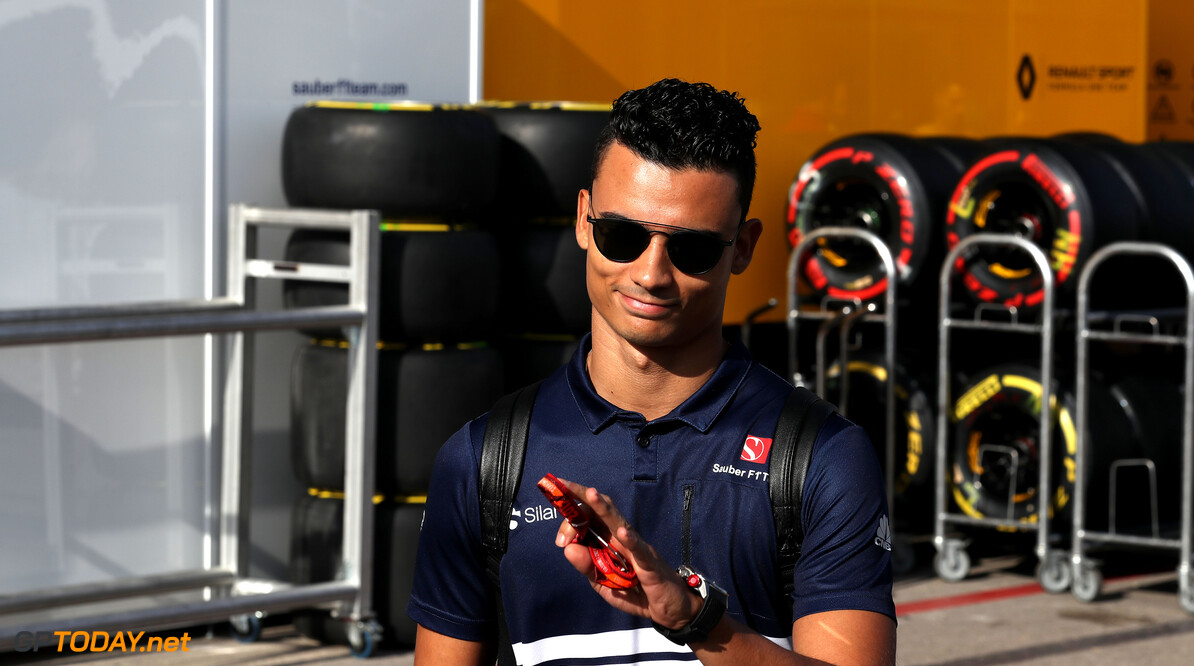 United States GP Thursday 19/10/17 Pascal Wehrlein (D), Sauber F1 Team. Circuit of the Americas.  United States GP Thursday 19/10/17 Jean-Francois Galeron Austin USA  F1 Formula One 2017 Paddock Wehrlein Sauber