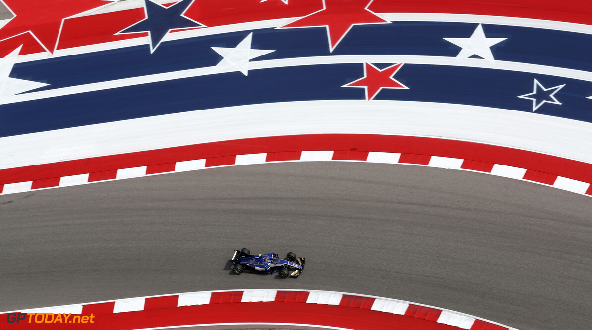 United States GP Friday 20/10/17 Pascal Wehrlein (D), Sauber F1 Team. Circuit of the Americas.  United States GP Friday 20/10/17 Jean-Francois Galeron Austin USA  F1 Formula One 2017 Action Wehrlein Sauber