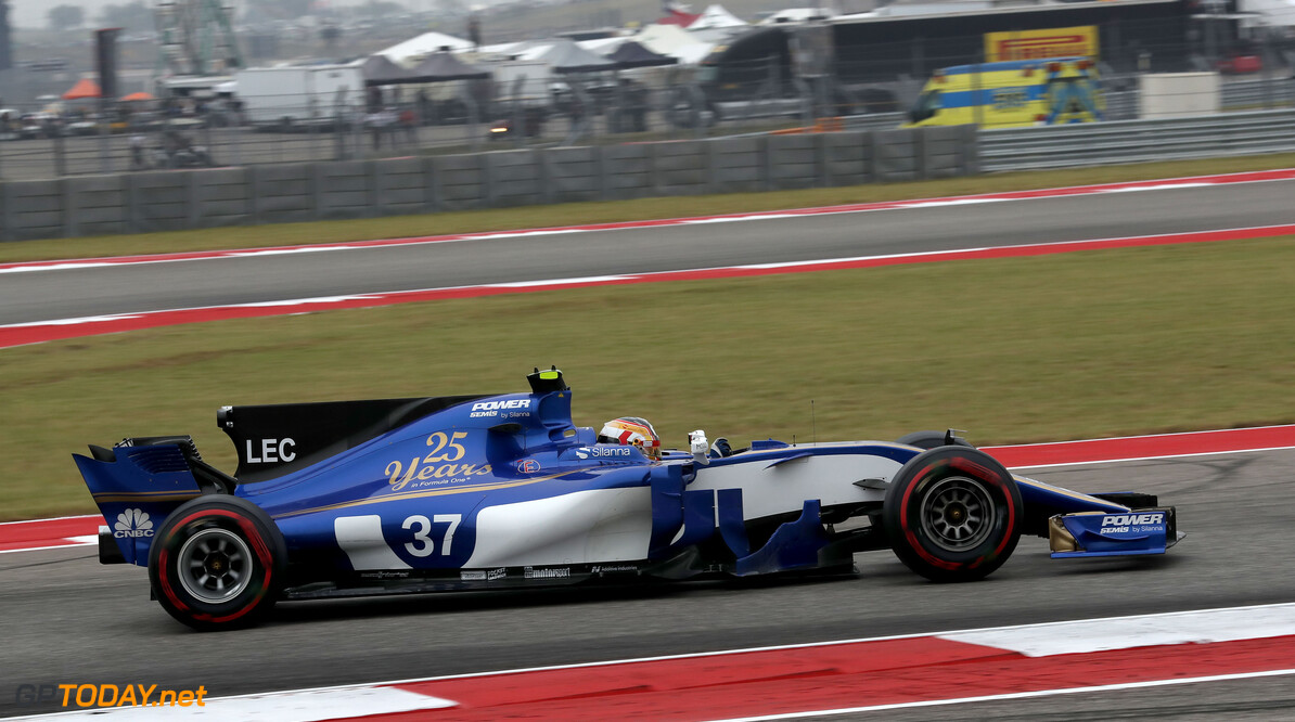 United States GP Friday 20/10/17  Charles Leclerc (MON) Sauber F1 Team. Circuit of the Americas.  United States GP Friday 20/10/17 Jean-Francois Galeron Austin USA  F1 Formula One 2017 Action Leclerc Sauber