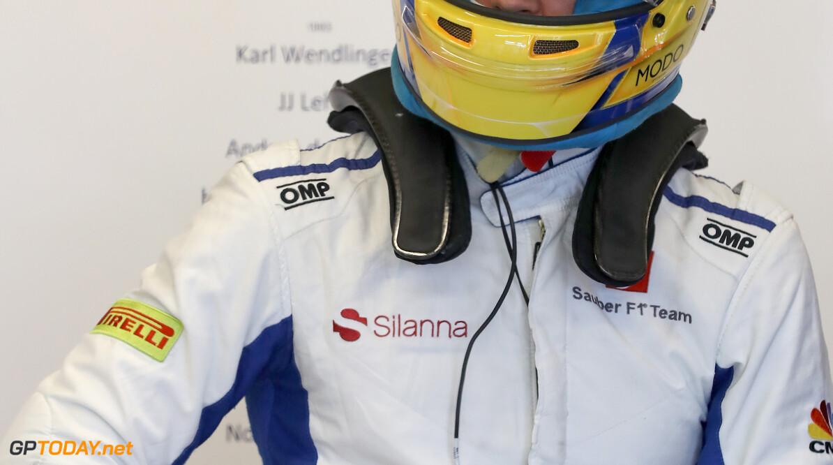 United States GP Friday 20/10/17 Marcus Ericsson (SWE), Sauber F1 Team.  Circuit of the Americas.  United States GP Friday 20/10/17 Jad Sherif Austin USA  F1 Formula 1 One 2017 Pits Ericsson Sauber