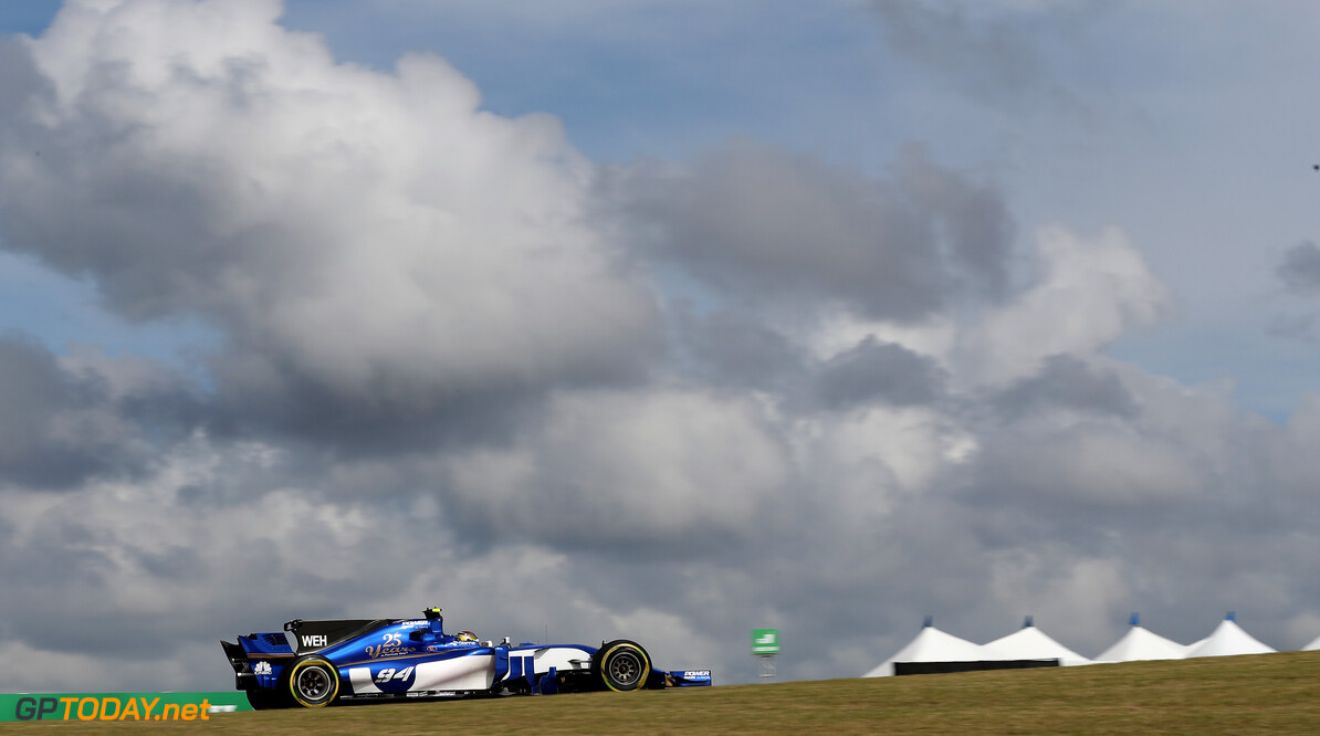 United States GP Friday 20/10/17 Pascal Wehrlein (D), Sauber F1 Team.  Circuit of the Americas.  United States GP Friday 20/10/17 Jad Sherif Austin USA  F1 Formula 1 One 2017 Action Wehrlein Sauber