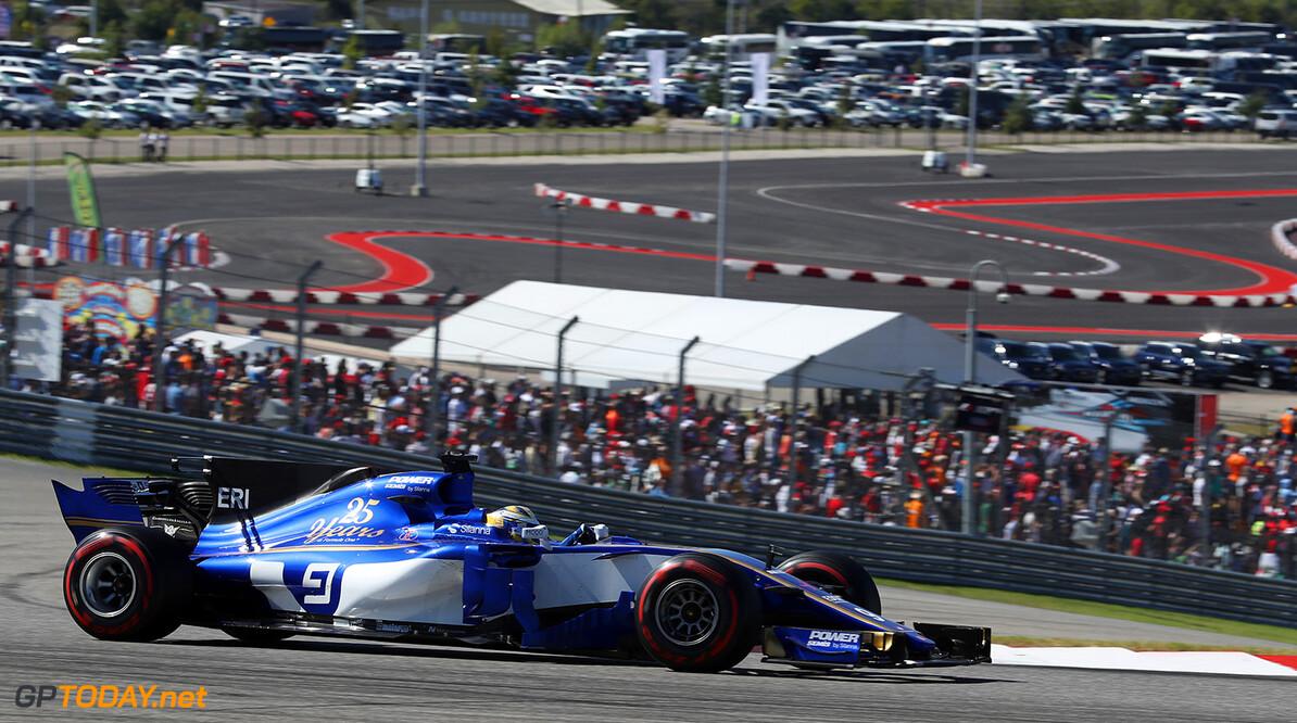 United States GP Sunday 22/10/17 Marcus Ericsson (SWE), Sauber F1 Team.  Circuit of the Americas. United States GP Sunday 22/10/17 Jad Sherif Austin USA  F1 Formula 1 One 2017 action Ericsson Sauber