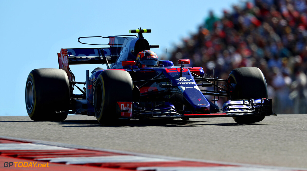 AUSTIN, TX - OCTOBER 22: Daniil Kvyat of Russia driving the (26) Scuderia Toro Rosso STR12 on track during the United States Formula One Grand Prix at Circuit of The Americas on October 22, 2017 in Austin, Texas.  (Photo by Mark Thompson/Getty Images) // Getty Images / Red Bull Content Pool  // P-20171023-00130 // Usage for editorial use only // Please go to www.redbullcontentpool.com for further information. //  F1 Grand Prix of USA Mark Thompson Austin United States  P-20171023-00130