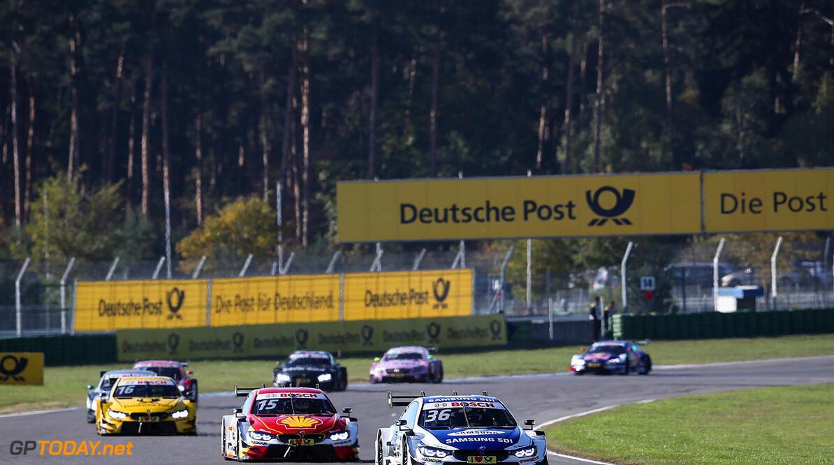 Motorsports: DTM race Hockenheim-II, Saison 2017 - 9. Event Hockenheimring, GER, # 36 Maxime Martin (BEL, BMW Team RBM, BMW M4 DTM) Motorsports: DTM race Hockenheimring Gruppe C / Hoch Zwei    Fahrszene Rennaction Rennen VersandPartnerDTM VersandPartnerStandard race