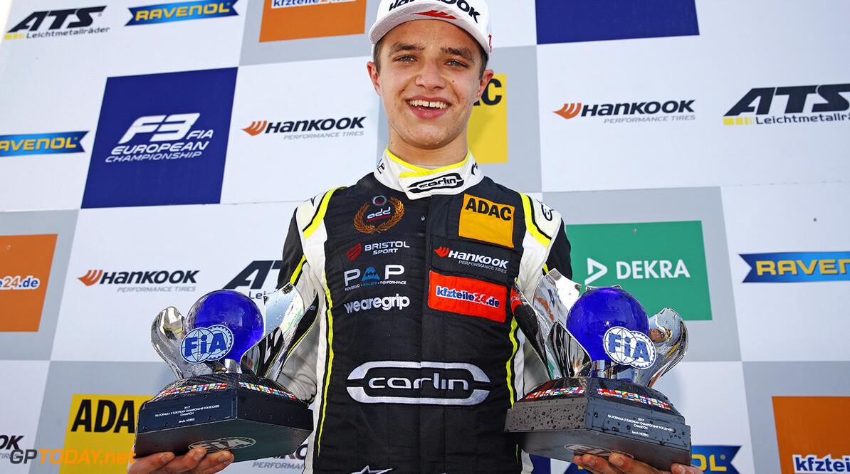 <b>Jaaroverzicht Formule 3</b>: Debutant Norris overtuigende kampioen
