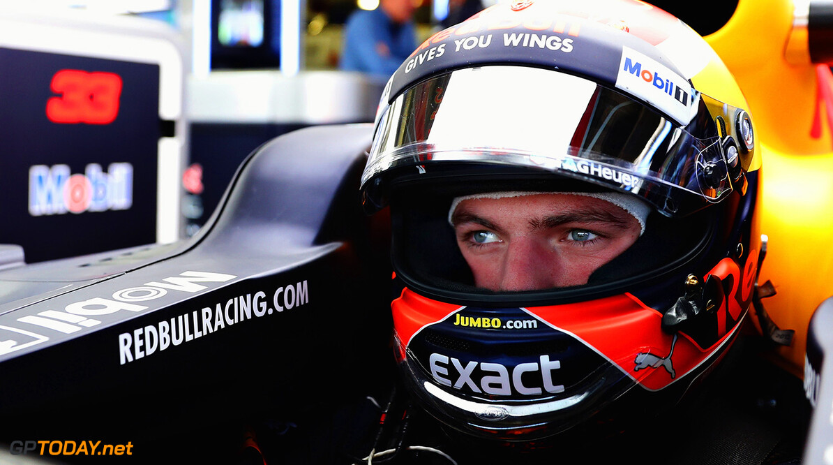 MEXICO CITY, MEXICO - OCTOBER 27:  Max Verstappen of Netherlands and Red Bull Racing prepares to drive in the garage during practice for the Formula One Grand Prix of Mexico at Autodromo Hermanos Rodriguez on October 27, 2017 in Mexico City, Mexico.  (Photo by Mark Thompson/Getty Images) // Getty Images / Red Bull Content Pool  // P-20171027-01759 // Usage for editorial use only // Please go to www.redbullcontentpool.com for further information. //  F1 Grand Prix of Mexico - Practice Mark Thompson Mexico City Mexico  P-20171027-01759