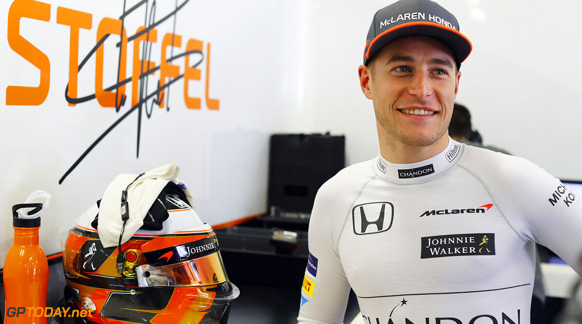 Autodromo Hermanos Rodriguez, Mexico City, Mexico. Friday 27 October 2017. Stoffel Vandoorne, McLaren. Photo: Steven Tee/McLaren ref: Digital Image _O3I6288  Steven Tee    f1 formula 1 formula one gp grand prix Portrait