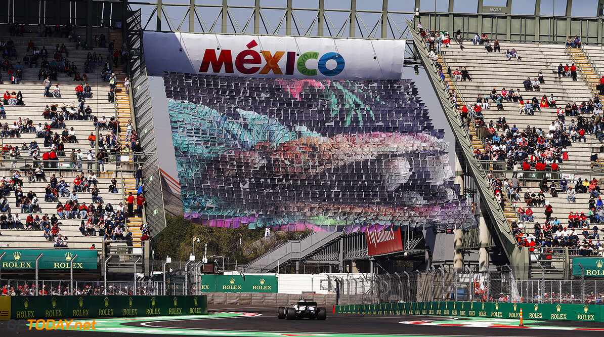 Autodromo Hermanos Rodriguez, Mexico City, Mexico. Friday 27 October 2017. Lance Stroll, Williams FW40 Mercedes. Photo: Zak Mauger/Williams ref: Digital Image _31I6281  Glenn Dunbar    f1 formula 1 formula one gp Action