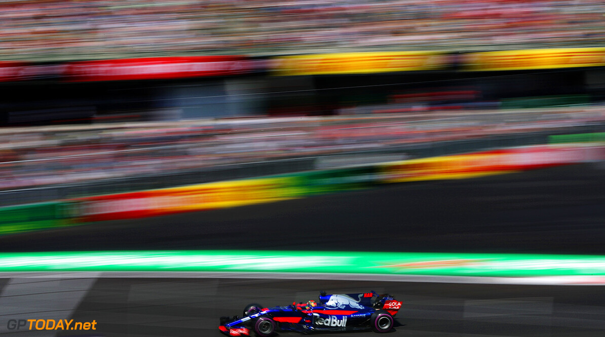MEXICO CITY, MEXICO - OCTOBER 27: Brendon Hartley of New Zealand driving the (28) Scuderia Toro Rosso STR12 on track during practice for the Formula One Grand Prix of Mexico at Autodromo Hermanos Rodriguez on October 27, 2017 in Mexico City, Mexico.  (Photo by Mark Thompson/Getty Images) // Getty Images / Red Bull Content Pool  // P-20171028-00058 // Usage for editorial use only // Please go to www.redbullcontentpool.com for further information. //  F1 Grand Prix of Mexico - Practice Mark Thompson Mexico City Mexico  P-20171028-00058