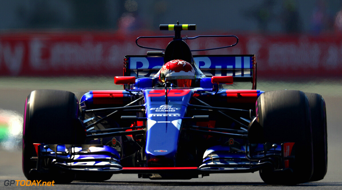 MEXICO CITY, MEXICO - OCTOBER 27:  Sean Gelael of Indonesia driving the (38) Scuderia Toro Rosso STR12 on track during practice for the Formula One Grand Prix of Mexico at Autodromo Hermanos Rodriguez on October 27, 2017 in Mexico City, Mexico.  (Photo by Clive Rose/Getty Images) // Getty Images / Red Bull Content Pool  // P-20171027-01528 // Usage for editorial use only // Please go to www.redbullcontentpool.com for further information. //  F1 Grand Prix of Mexico - Practice Clive Rose Mexico City Mexico  P-20171027-01528