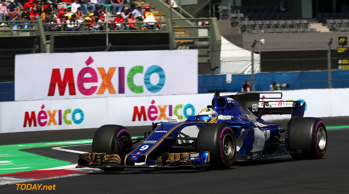 Mexican GP Friday 27/10/17 Marcus Ericsson (SWE), Sauber F1 Team. Autodromo Hermanos Rodriguez.  Mexican GP Friday 27/10/17 Jean-Francois Galeron Mexico City Mexico  F1 Formula One 2017 Action Ericsson Sauber