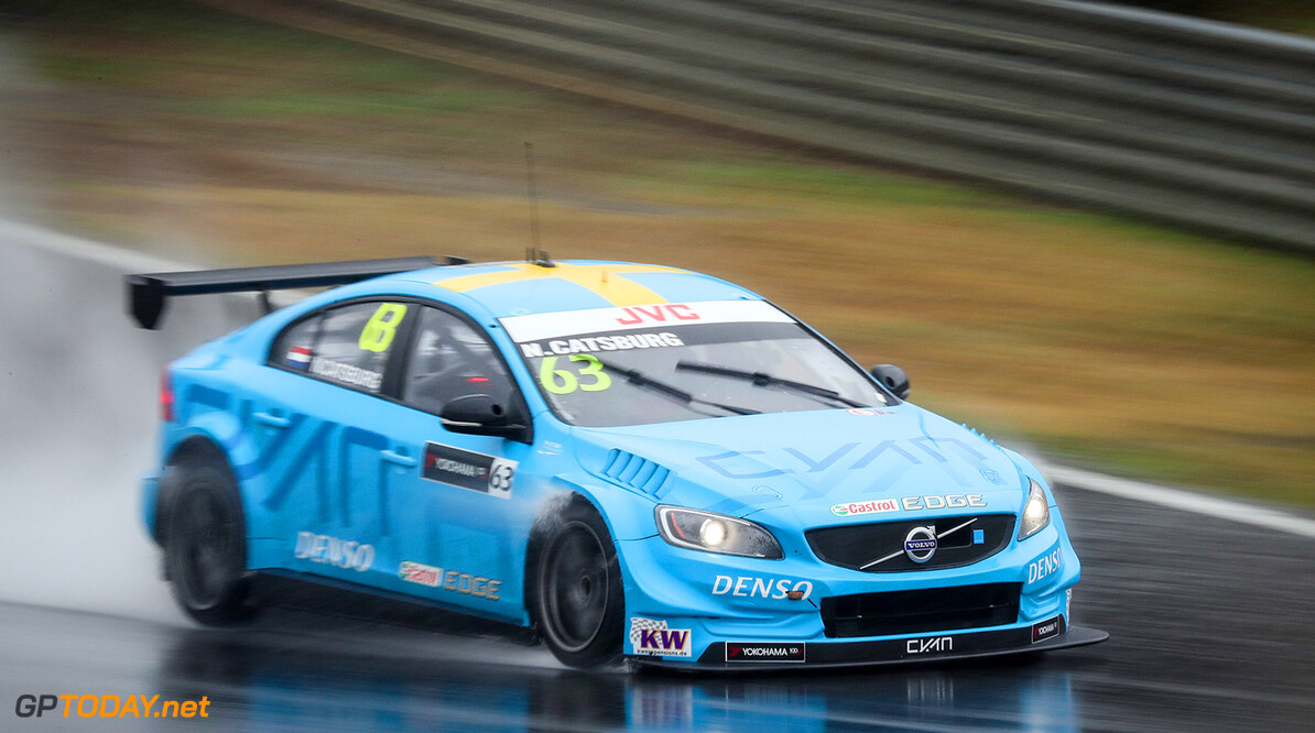 63 CATSBURG Nicky (ned) Volvo S60 Polestar team Polestar Cyan Racing action during the 2017 FIA WTCC World Touring Car Championship race at Motegi from october 27 to 29, Japan - Photo Alexandre Guillaumot / DPPI AUTO - WTCC MOTEGI  2017 Alexandre Guillaumot    Auto Motorsport championnat du monde circuit course fia japon octobre tourisme wtcc