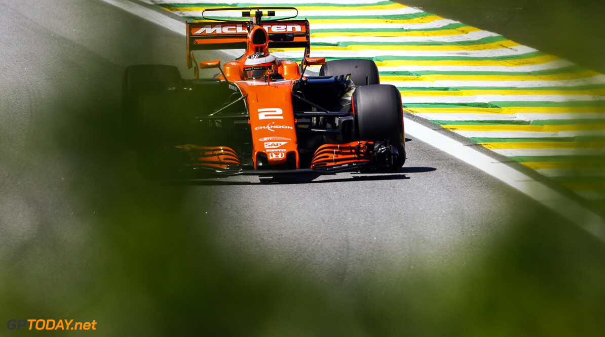 Interlagos, Sao Paulo, Brazil. Friday 10 November 2017. Stoffel Vandoorne, McLaren MCL32 Honda. World Copyright: Steven Tee/LAT Images  ref: Digital Image _R3I8037  Steven Tee    f1 formula 1 formula one gp Action