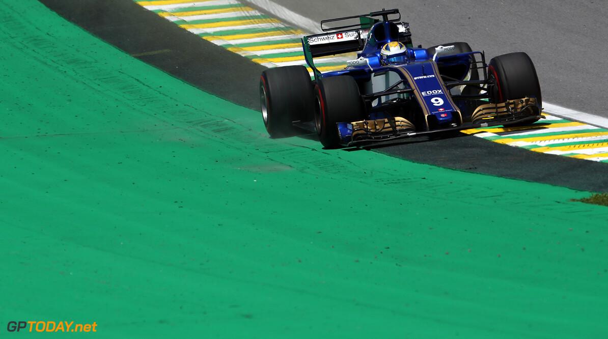 Brazilian GP Friday 10/11/17 Marcus Ericsson (SWE), Sauber F1 Team.  Autodromo Jose Carlos Pace.  Brazilian GP Friday 10/11/17 Jad Sherif Interlagos, Sao Paulo Brazil  F1 Formula 1 One 2017 Action Ericsson Sauber