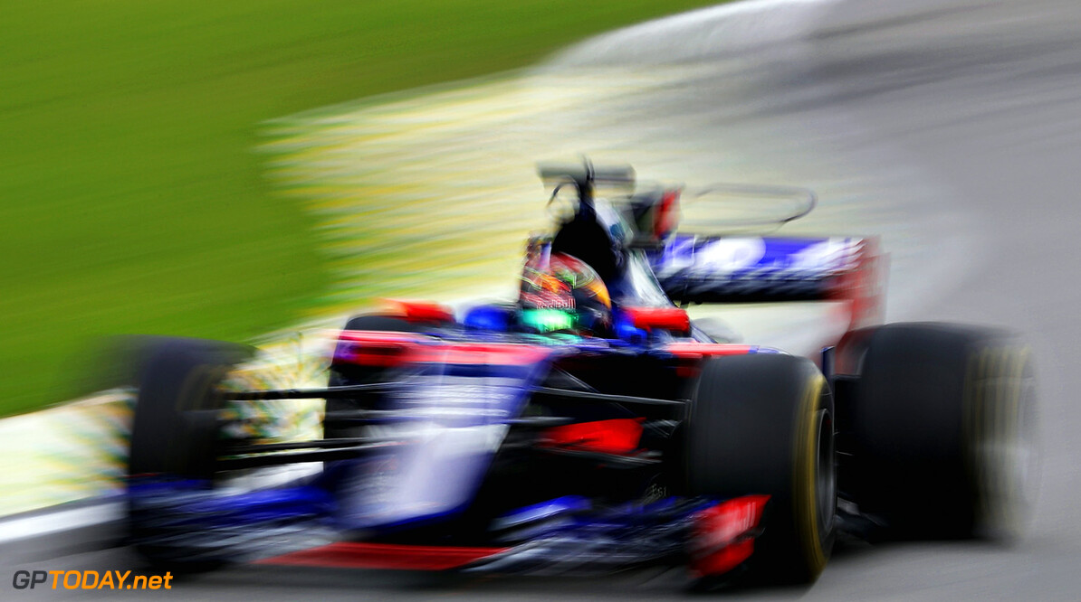 SAO PAULO, BRAZIL - NOVEMBER 10: Brendon Hartley of New Zealand driving the (28) Scuderia Toro Rosso STR12 on track during practice for the Formula One Grand Prix of Brazil at Autodromo Jose Carlos Pace on November 10, 2017 in Sao Paulo, Brazil.  (Photo by Mark Thompson/Getty Images) // Getty Images / Red Bull Content Pool  // P-20171110-01834 // Usage for editorial use only // Please go to www.redbullcontentpool.com for further information. //  F1 Grand Prix of Brazil - Practice Mark Thompson Sao Paulo Brazil  P-20171110-01834