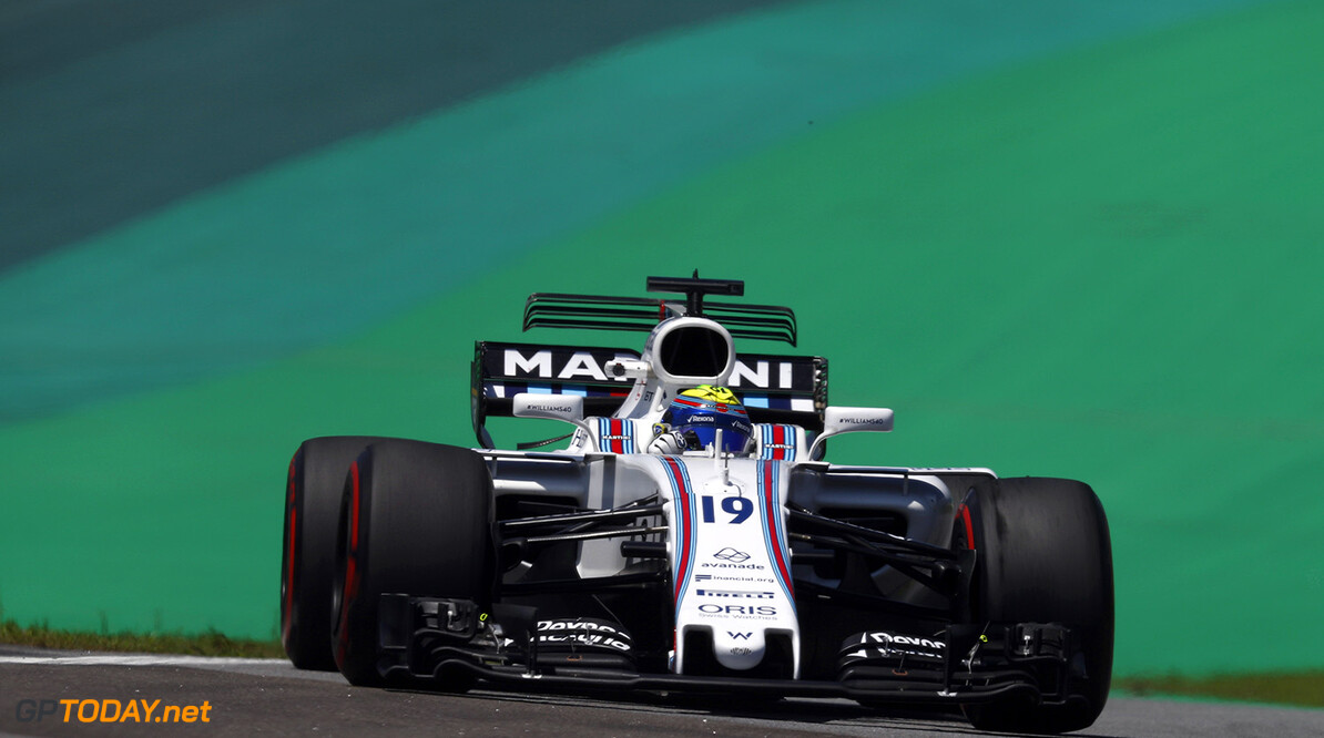 Interlagos, Sao Paulo, Brazil. Friday 10 November 2017. Felipe Massa, Williams FW40 Mercedes. Photo: Glenn Dunbar/Williams ref: Digital Image _31I8842  Glenn Dunbar    f1 formula 1 formula one gp Action