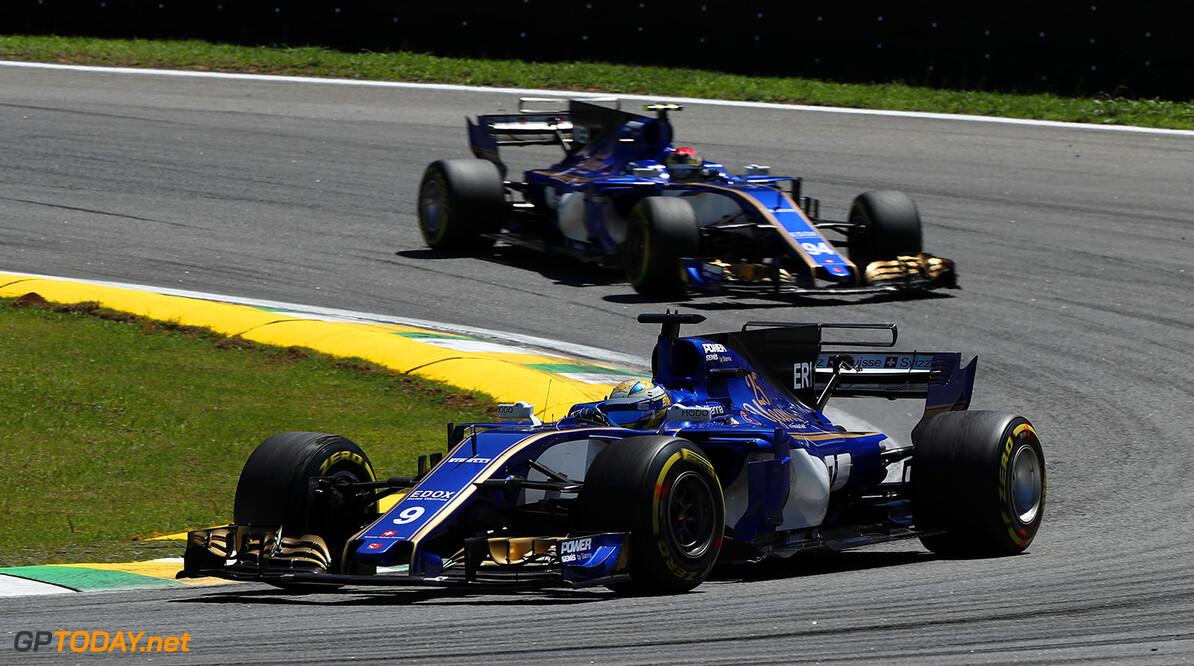 Brazilian GP Race 12/11/17 Marcus Ericsson (SWE), Sauber F1 Team.  Autodromo Jose Carlos Pace.  Brazilian GP Race 12/11/17 Jad Sherif Interlagos, Sao Paulo Brazil  F1 Formula 1 One 2017 Action Ericsson Sauber