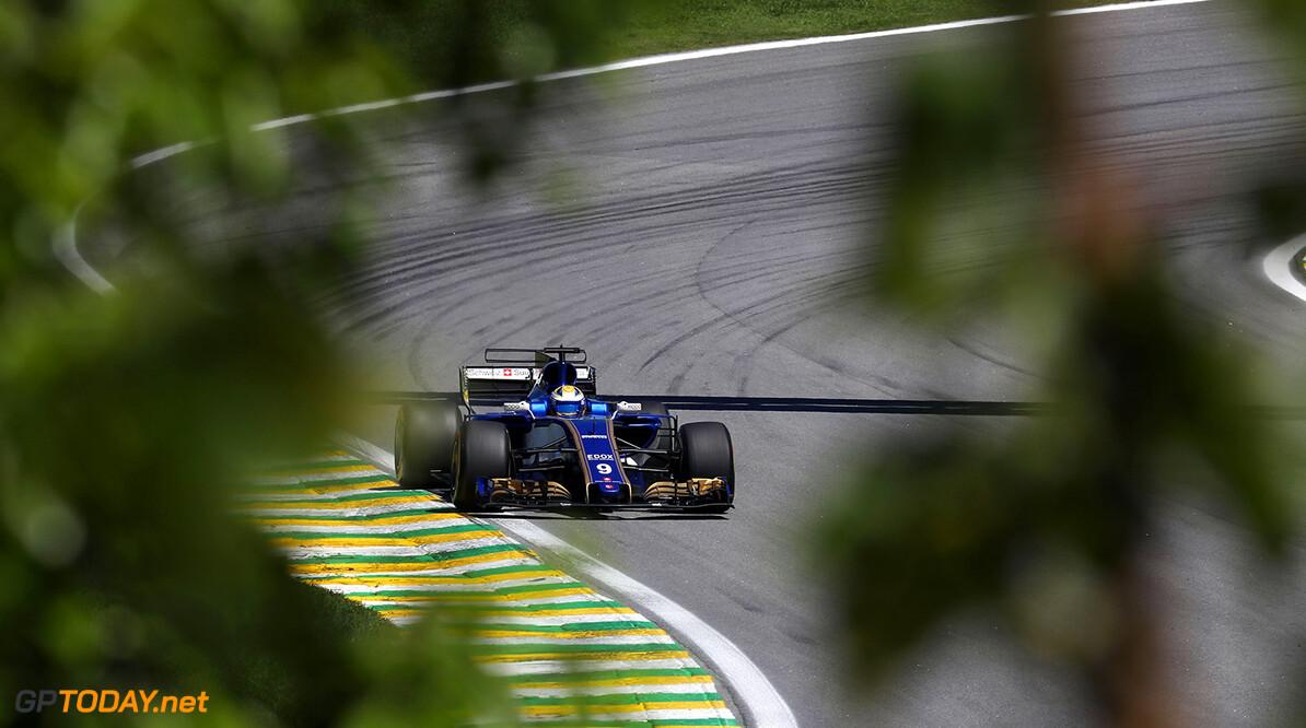 Brazilian GP Race 12/11/17 Marcus Ericsson (SWE), Sauber F1 Team. Autodromo Jose Carlos Pace.  Brazilian GP Race 12/11/17 Jean-Francois Galeron Interlagos Brazil  F1 Formula One 2017 Action Ericsson Sauber
