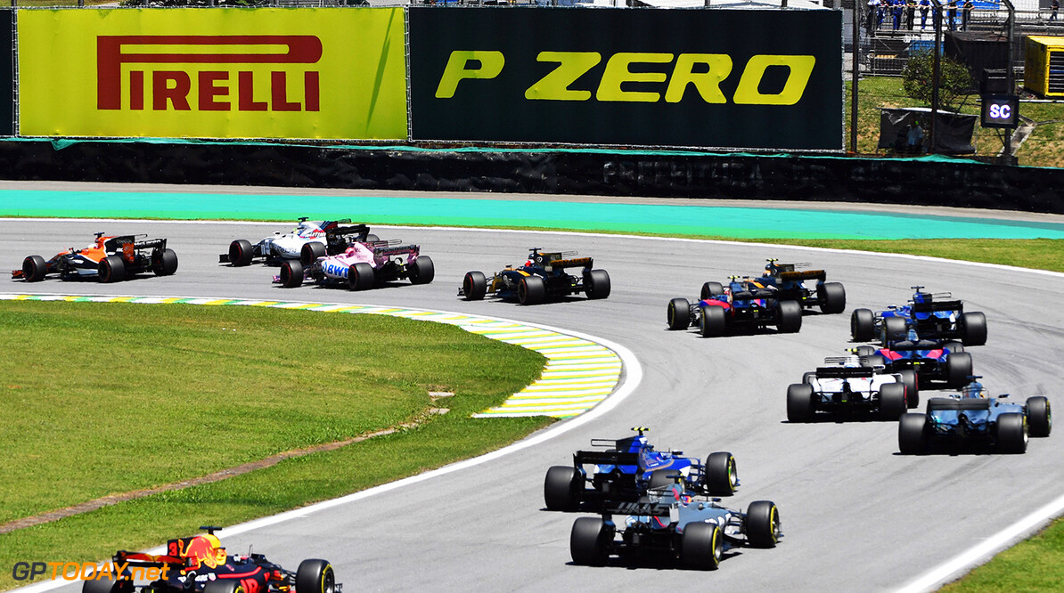 Formula One World Championship at Formula One World Championship, Rd19, Brazilian Grand Prix, Practice, Interlagos, Sao Paulo, Brazil, Friday 10 November 2017. Brazilian Grand Prix Practice  Sao Paulo Brazil  F1 Formula 1 GP