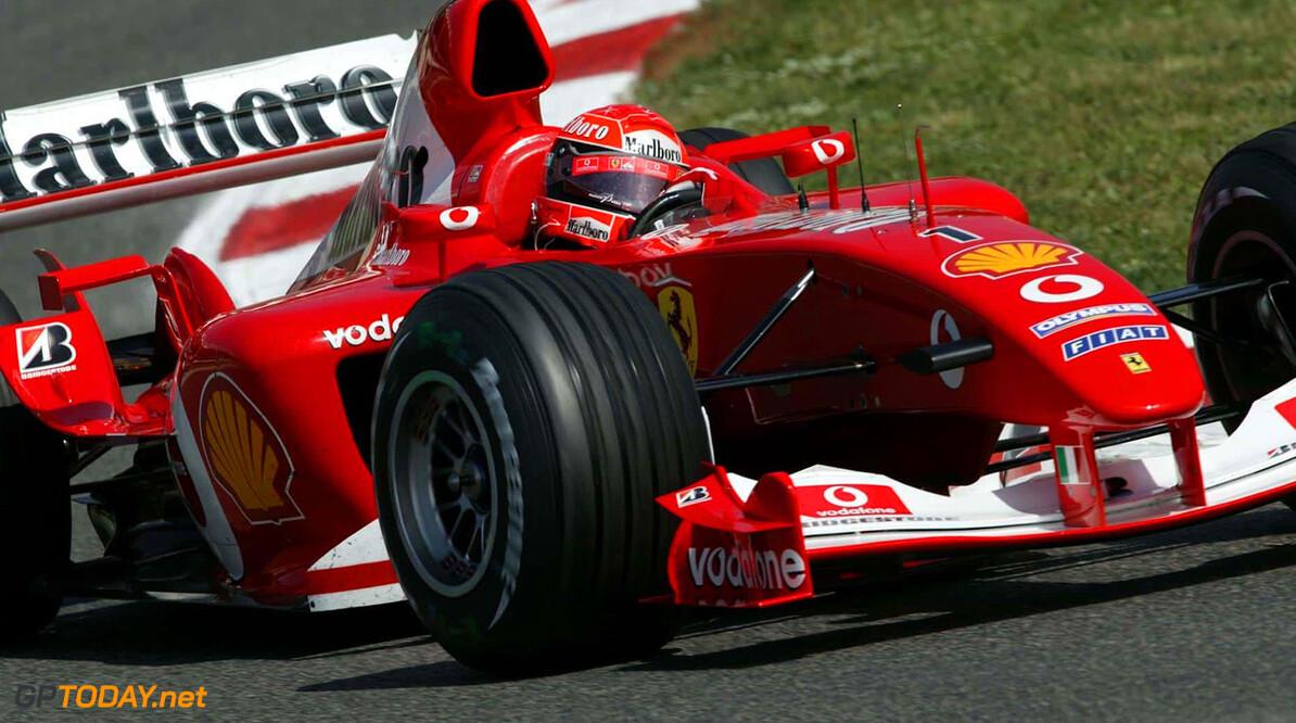 Schumacher verkozen tot beste Ferrari-rijder aller tijden