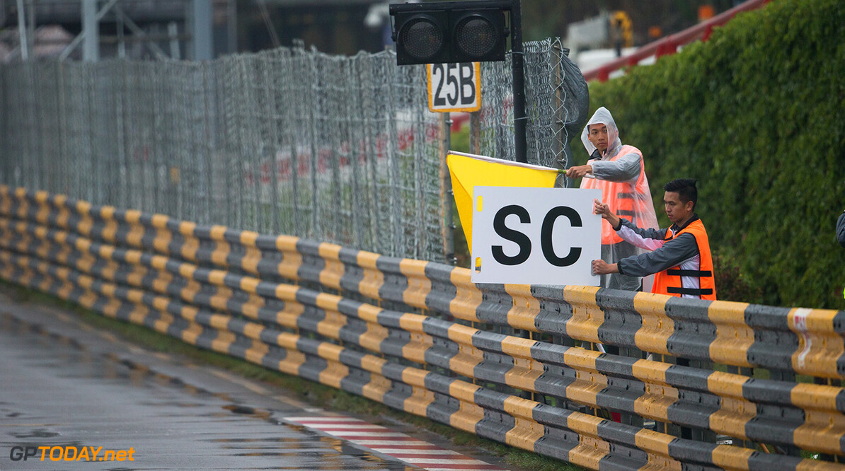 safety car ambiance during the 2017 FIA WTCC World Touring Car Championship race at Guia International Circuit from november 17 to 19, Macau - Photo Antonin Vincent / DPPI AUTO - WTCC MACAU - 2017 Antonin Vincent    auto championnat du monde circuit course fia macao motorsport novembre tourisme wtcc