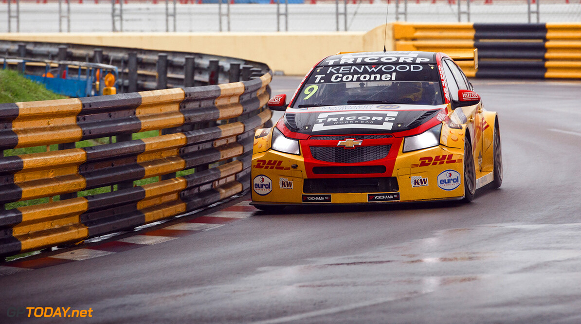09 CORONEL Tom (NLD), ROAL Motorsport, Chevrolet RML Cruze TC1, Action during the 2017 FIA WTCC World Touring Car Championship race at Guia International Circuit from november 17 to 19, Macau - Photo Antonin Vincent / DPPI AUTO - WTCC MACAU - 2017 Antonin Vincent    auto championnat du monde circuit course fia macao motorsport novembre tourisme wtcc