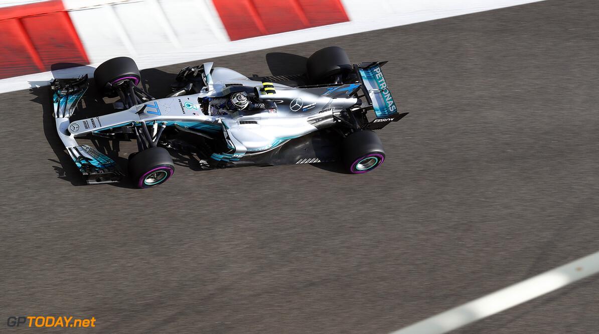 Bottas beats Hamilton as Mercedes dominate in Abu Dhabi