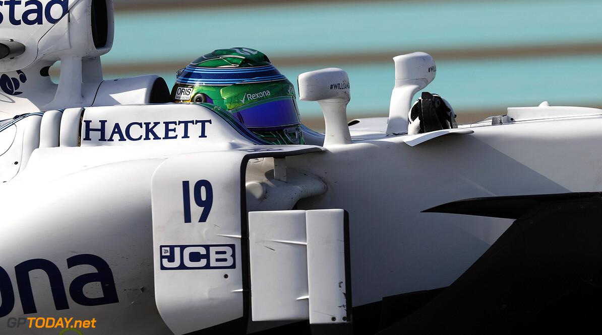 Yas Marina Circuit, Abu Dhabi, United Arab Emirates. Friday 24 November 2017. Felipe Massa, Williams FW40 Mercedes. Photo: Glenn Dunbar/Williams ref: Digital Image _31I5333  Glenn Dunbar    f1 formula 1 formula one gp action