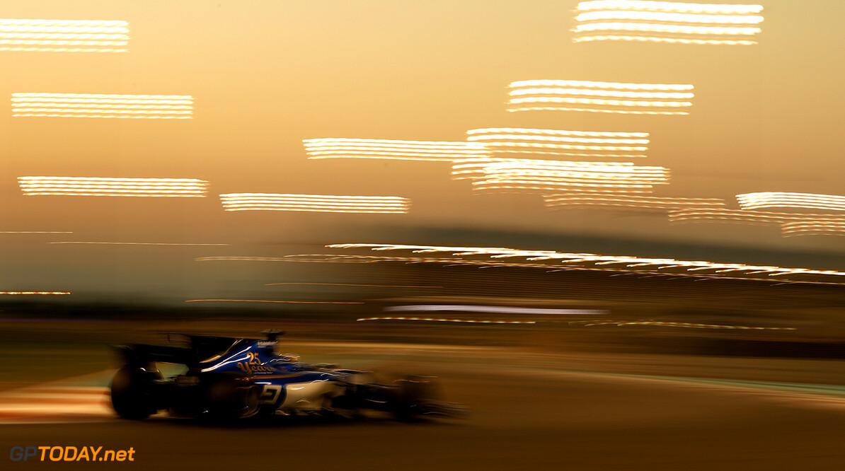 Abu Dhabi GP Friday 24/11/17 Marcus Ericsson (SWE), Sauber F1 Team.  Yas Marina Circuit.  Abu Dhabi GP Friday 24/11/17 Jad Sherif Abu Dhabi United Arab Emirates  F1 Formula 1 One 2017 Action Ericsson Sauber