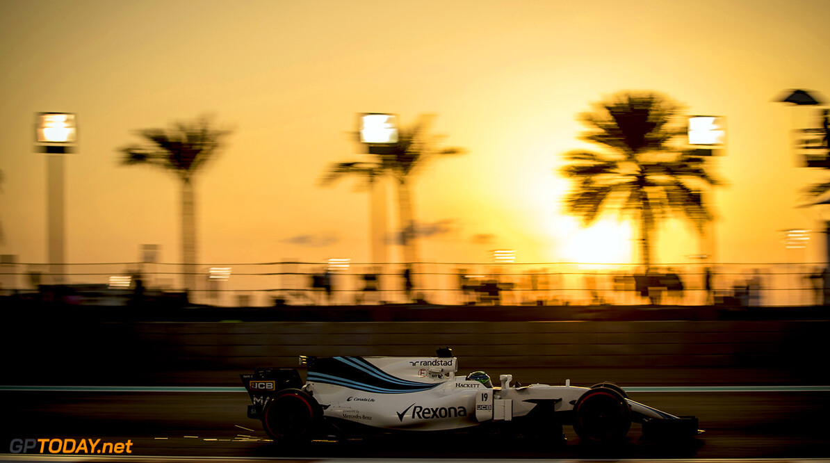 Yas Marina Circuit, Abu Dhabi, United Arab Emirates. Friday 24 November 2017. Felipe Massa, Williams FW40 Mercedes. Photo: Glenn Dunbar/Williams ref: Digital Image _31I5899  Glenn Dunbar    f1 formula 1 formula one gp action