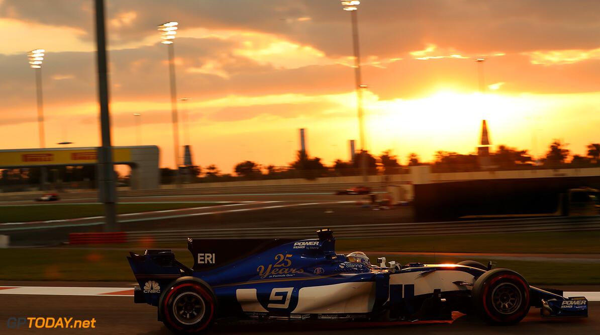 Abu Dhabi GP Race 26/11/17 Marcus Ericsson (SWE), Sauber F1 Team.  Yas Marina Circuit.  Abu Dhabi GP Race 26/11/17 Jad Sherif Abu Dhabi United Arab Emirates  F1 Formula 1 One 2017 Action Ericsson Sauber