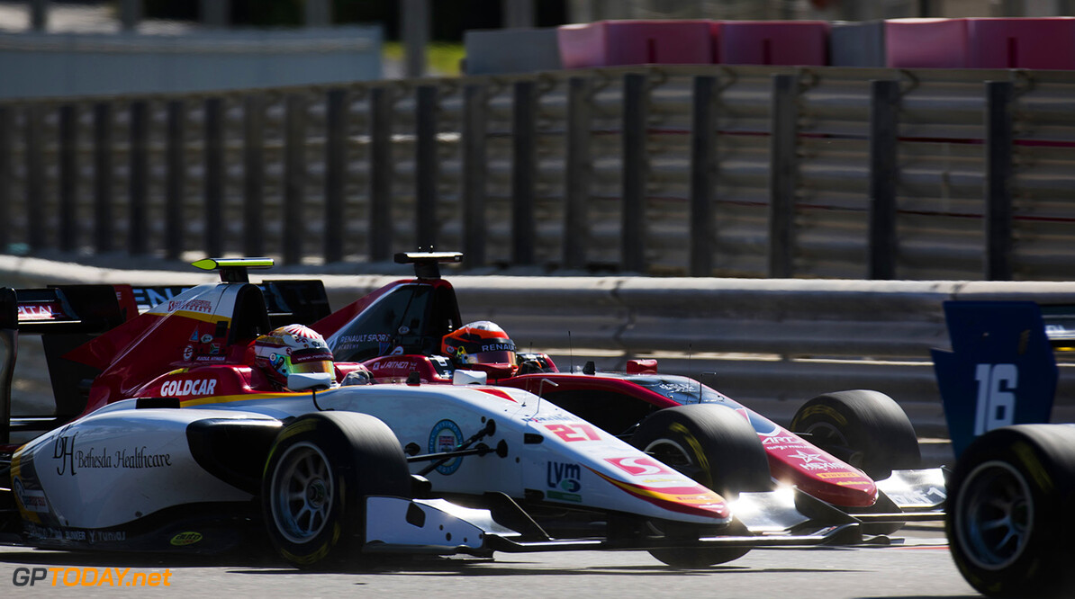 2017 GP3 Series Round 8. 